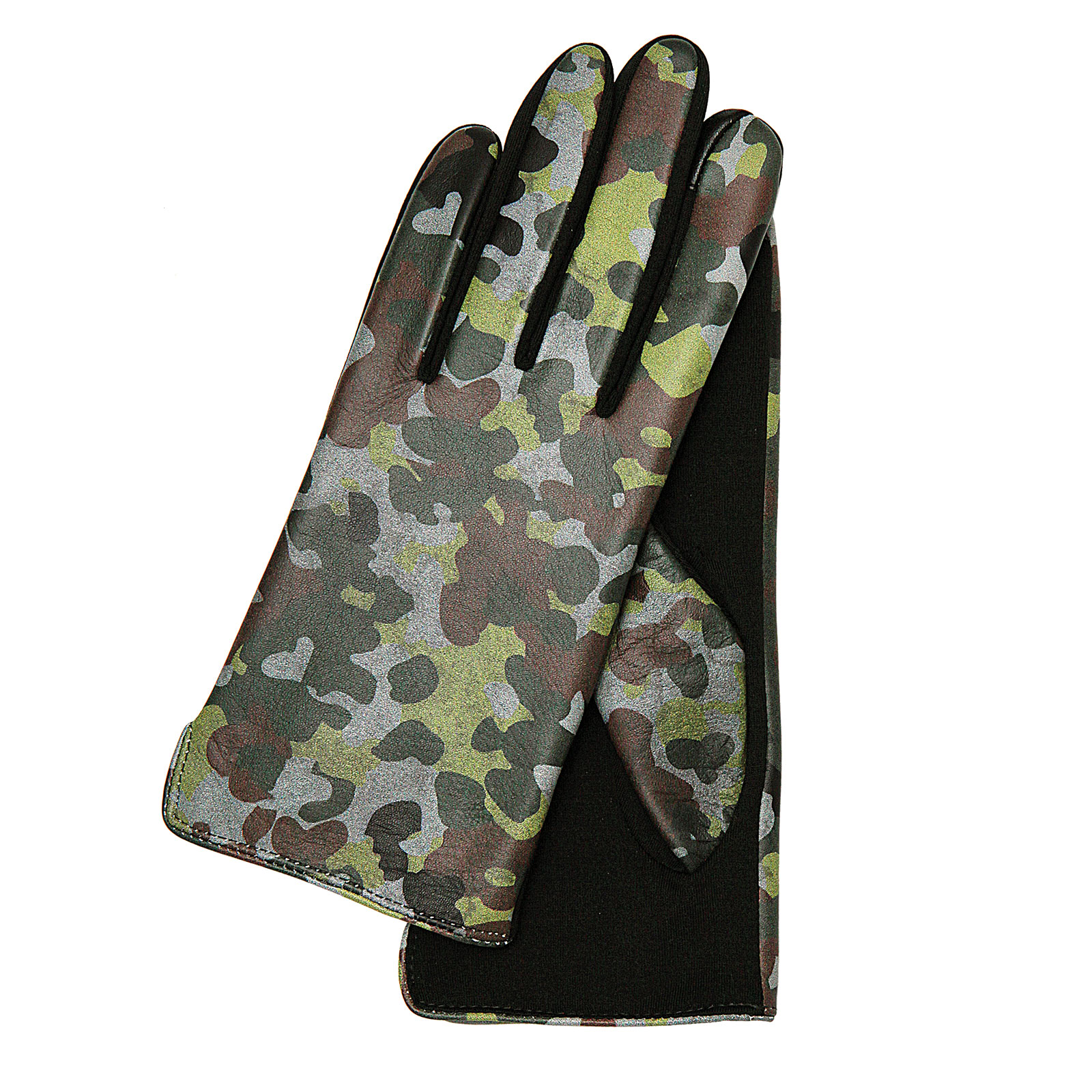 Mia Print828 camouflage green/ grey